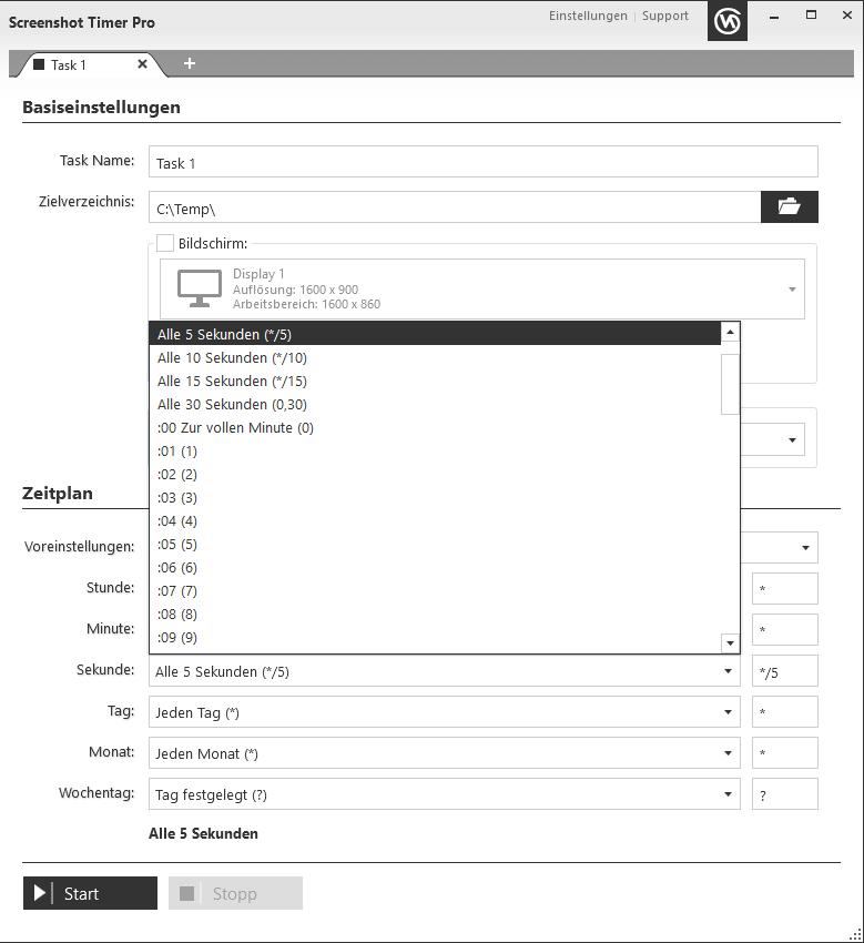 Screenshot TimerPro